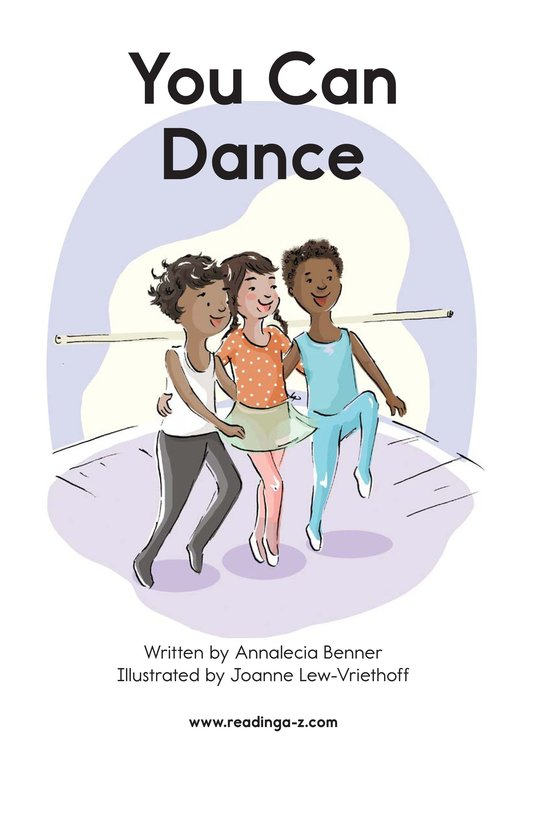 Book Preview For You Can Dance Page 2