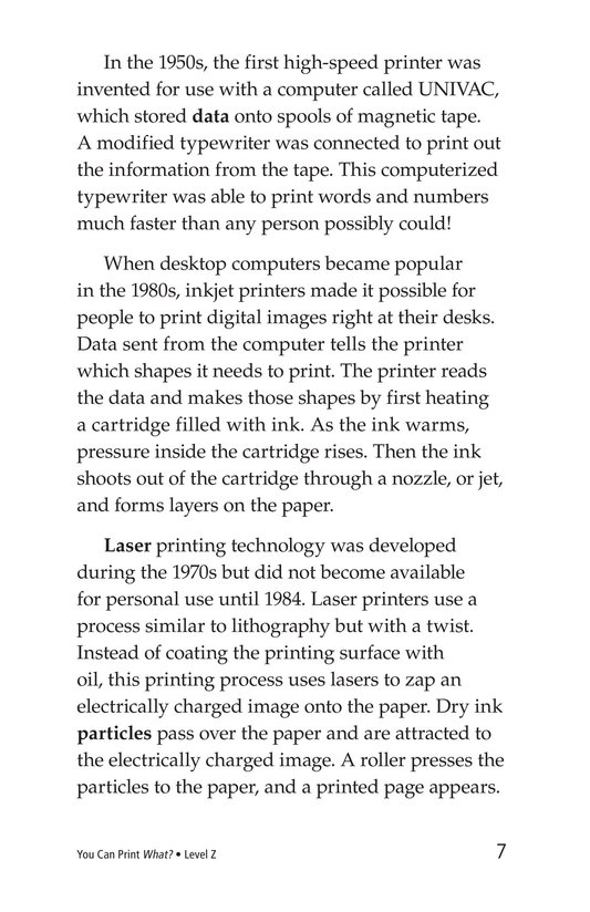 Book Preview For You Can Print What? Page 7