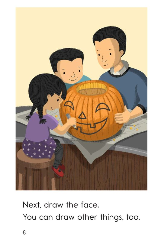 Book Preview For Let's Carve a Pumpkin Page 8