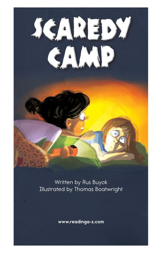 Book Preview For Scaredy Camp Page 2