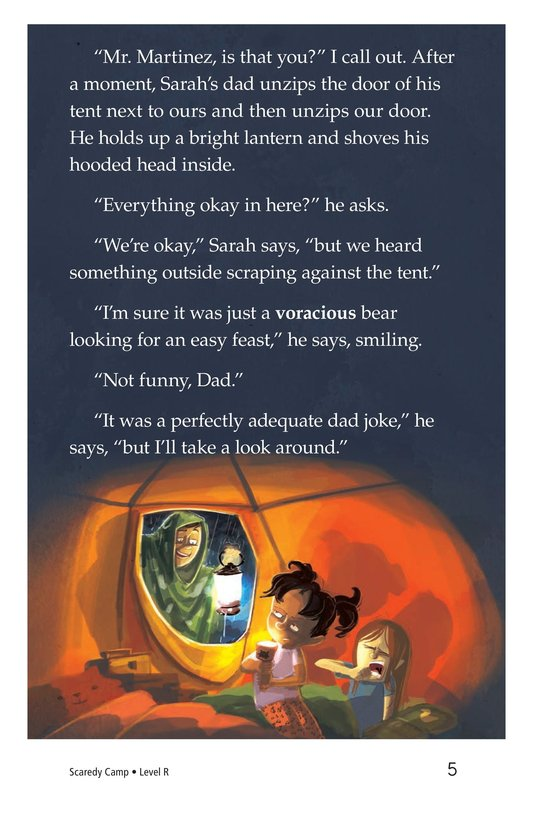 Book Preview For Scaredy Camp Page 5