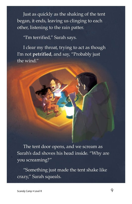 Book Preview For Scaredy Camp Page 9