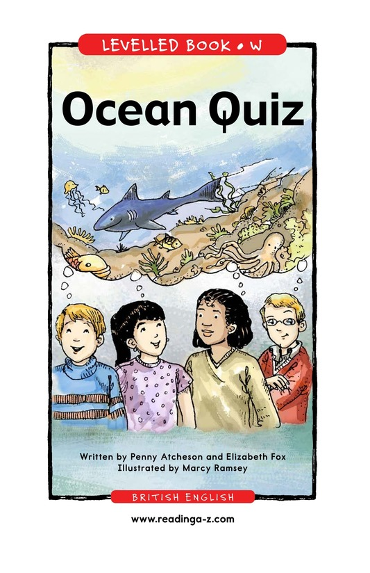 Book Preview For Ocean Quiz Page 1