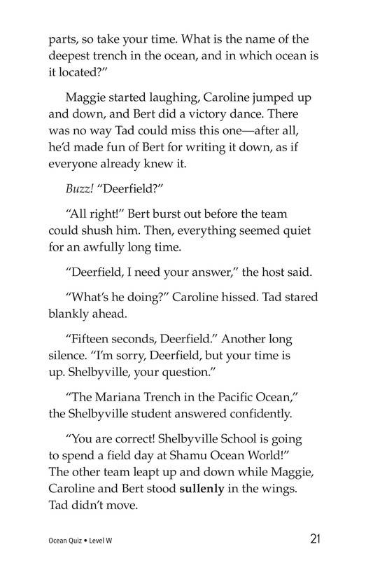 Book Preview For Ocean Quiz Page 21
