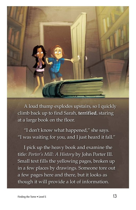 Book Preview For Finding the Tome Page 13