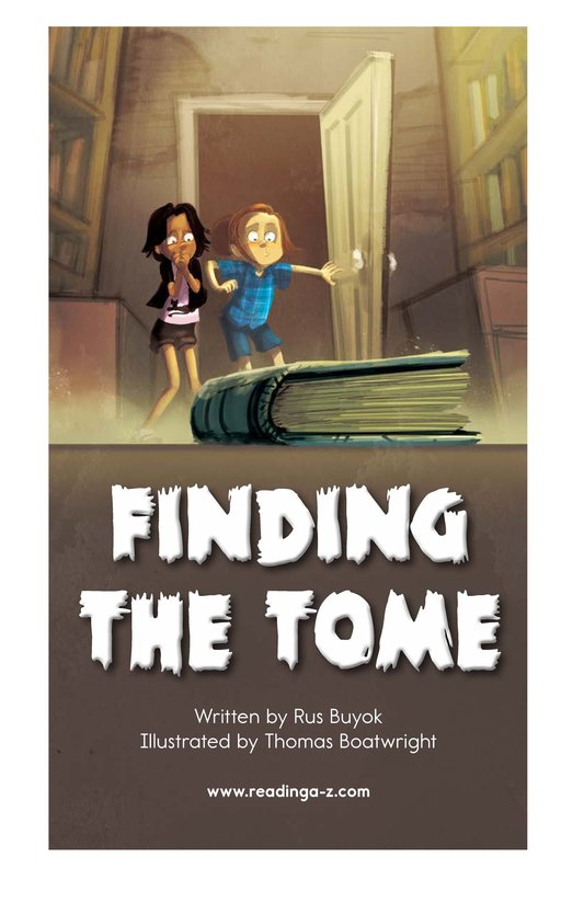 Book Preview For Finding the Tome Page 2
