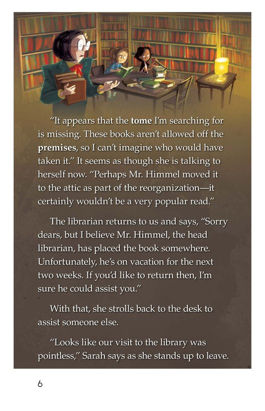 Book Preview For Finding the Tome Page 6