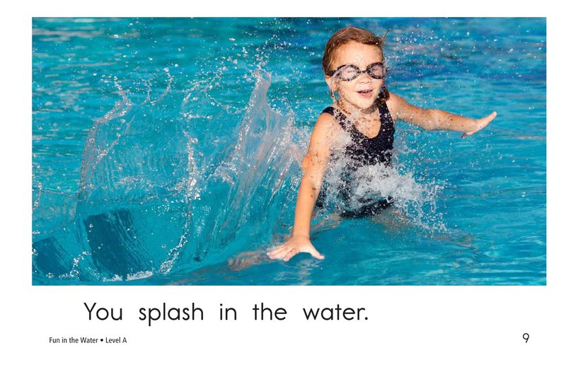 Book Preview For Fun in the Water Page 9