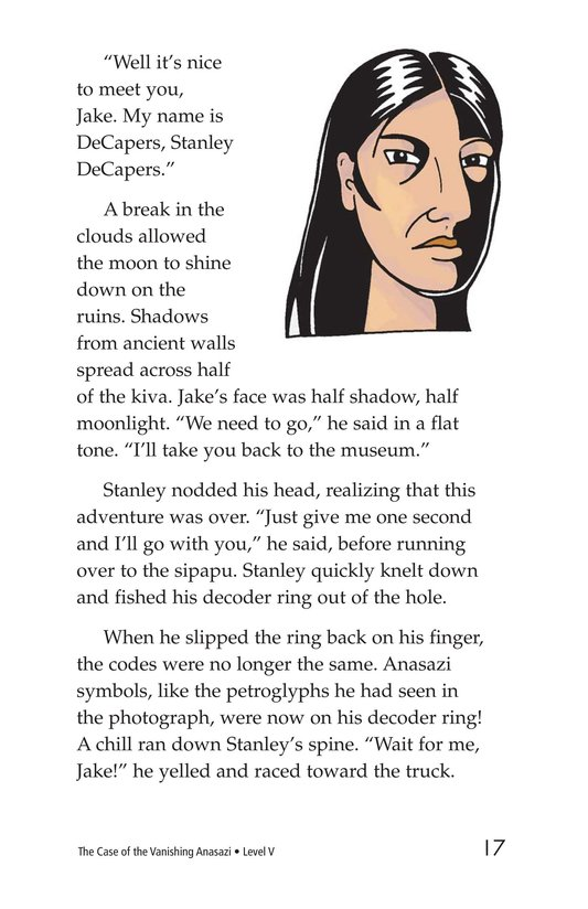 Book Preview For The Case of the Vanishing Anasazi Page 17