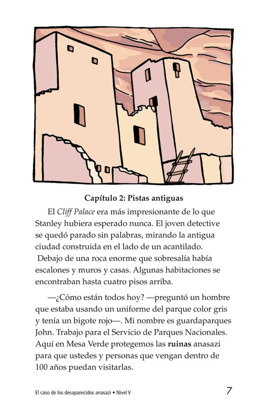Book Preview For The Case of the Vanishing Anasazi Page 7