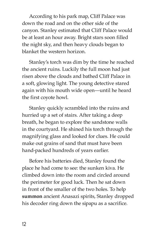Book Preview For The Case of the Vanishing Anasazi Page 12
