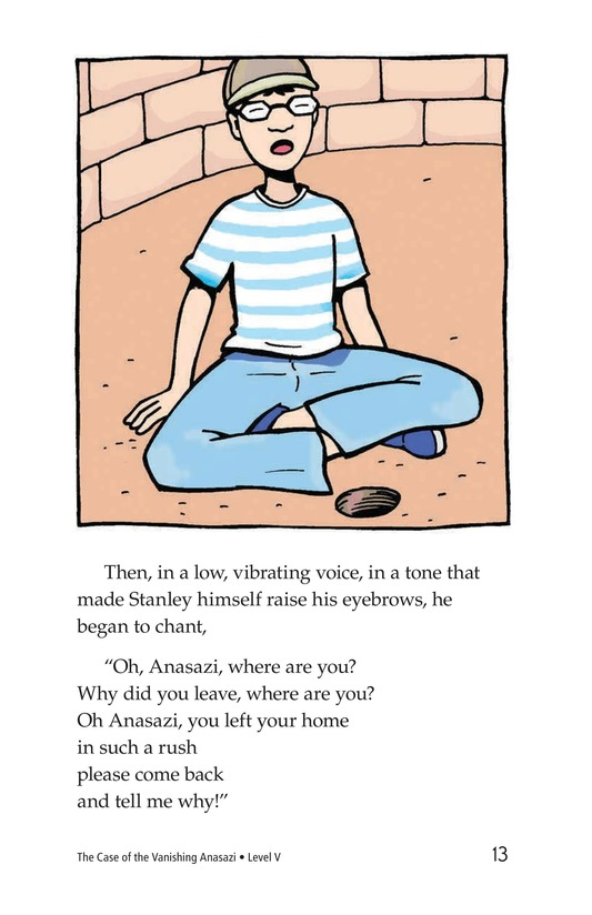 Book Preview For The Case of the Vanishing Anasazi Page 13