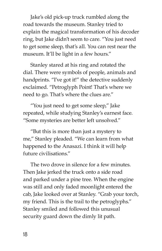 Book Preview For The Case of the Vanishing Anasazi Page 18