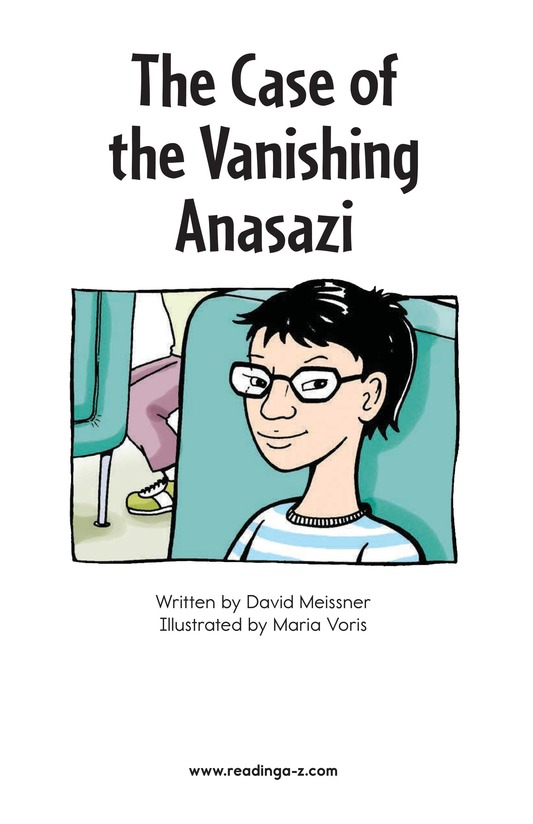 Book Preview For The Case of the Vanishing Anasazi Page 2