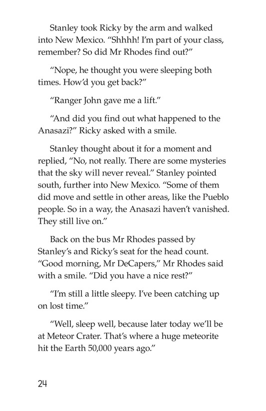 Book Preview For The Case of the Vanishing Anasazi Page 24