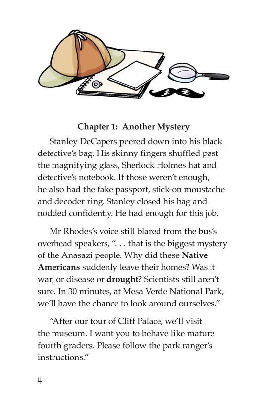 Book Preview For The Case of the Vanishing Anasazi Page 4