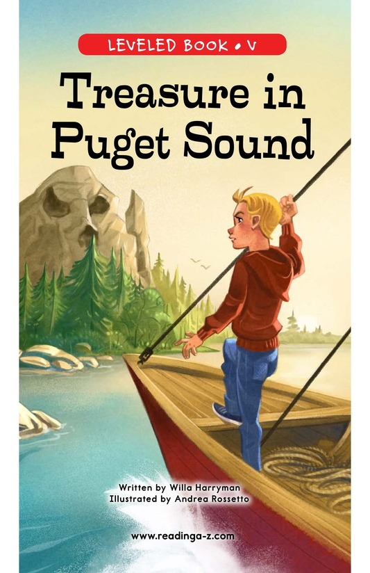 Book Preview For Treasure in Puget Sound Page 0