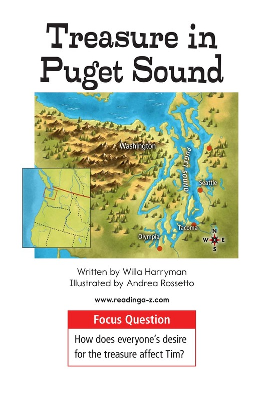 Book Preview For Treasure in Puget Sound Page 1