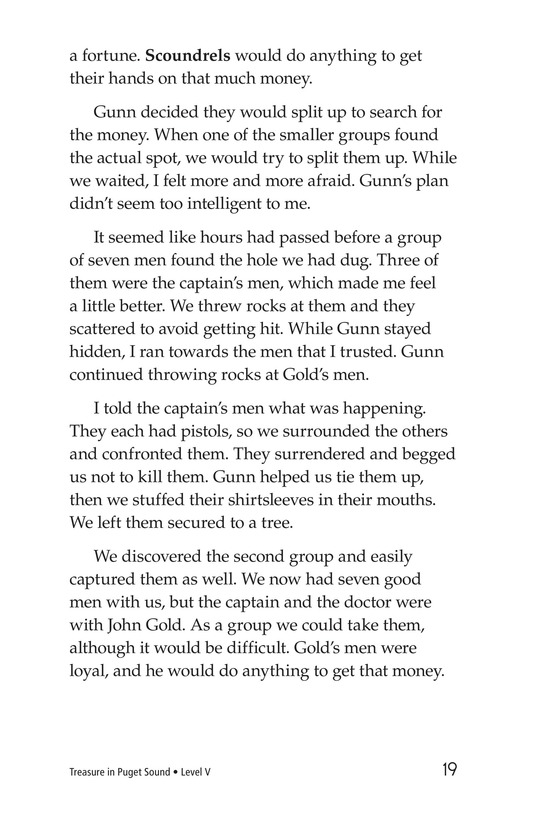 Book Preview For Treasure in Puget Sound Page 19