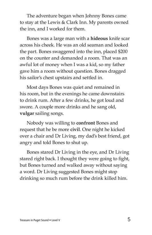 Book Preview For Treasure in Puget Sound Page 5