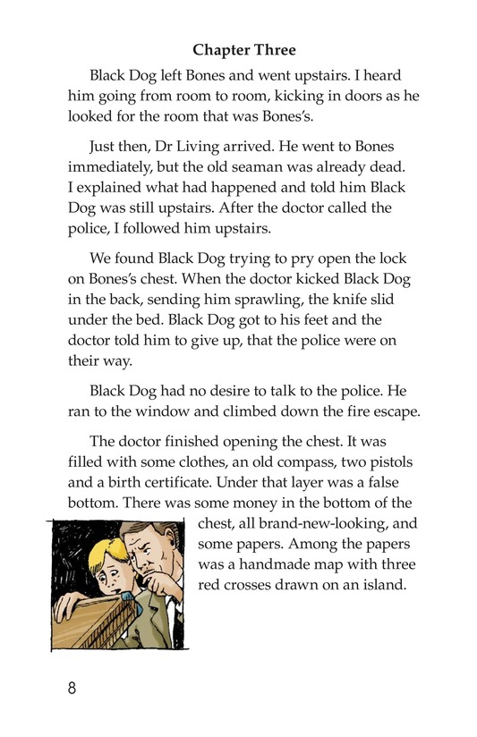 Book Preview For Treasure in Puget Sound Page 8