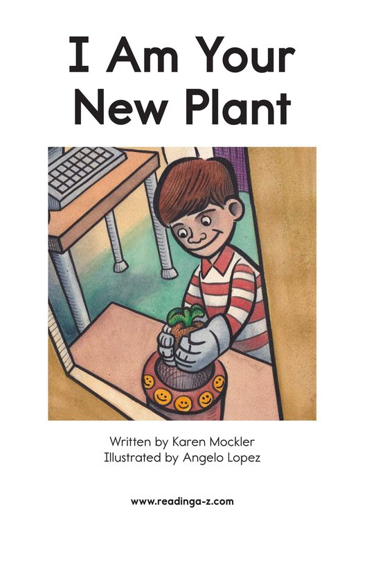 Book Preview For I Am Your New Plant Page 2