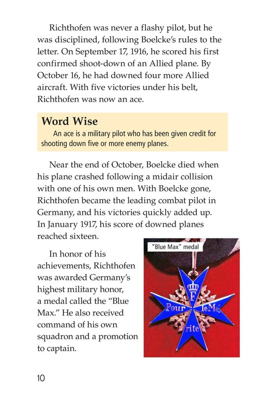 Book Preview For The Red Baron Page 10