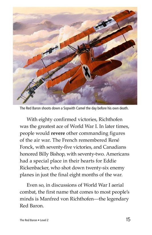 Book Preview For The Red Baron Page 15