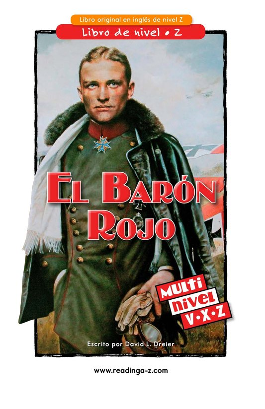 Book Preview For The Red Baron Page 1