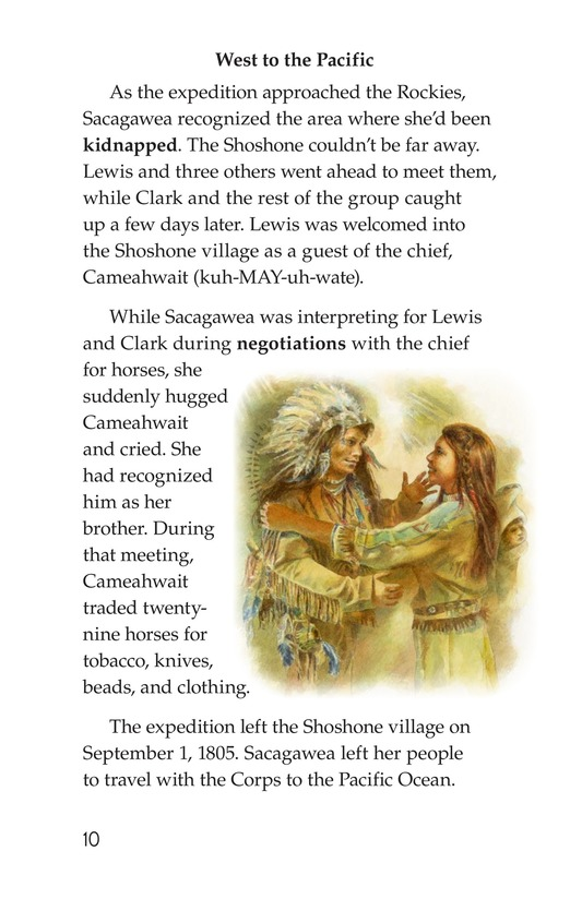 Book Preview For Sacagawea Page 10