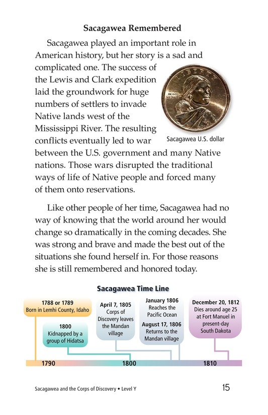 Book Preview For Sacagawea Page 15