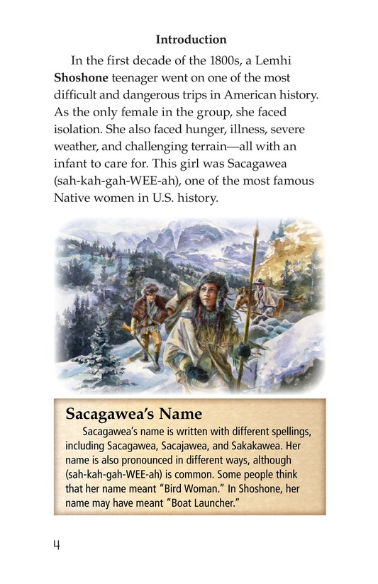 Book Preview For Sacagawea Page 4