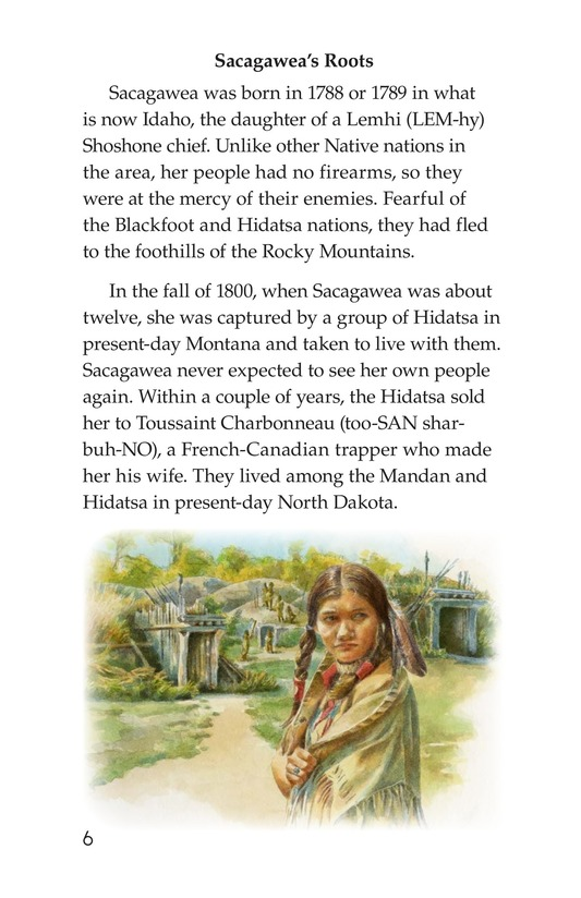 Book Preview For Sacagawea Page 6