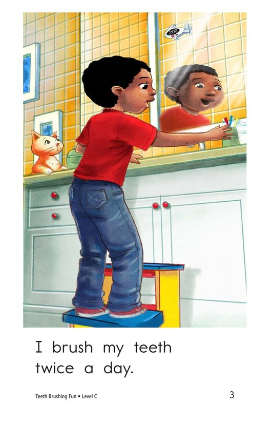 Book Preview For Teeth Brushing Fun Page 3