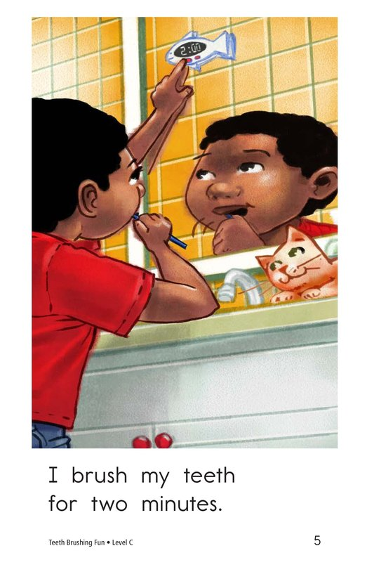 Book Preview For Teeth Brushing Fun Page 5
