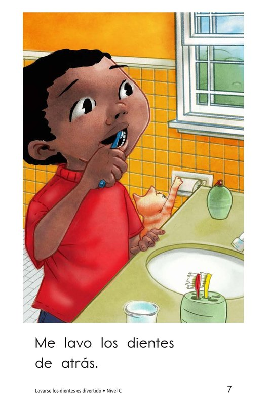 Book Preview For Teeth Brushing Fun Page 7