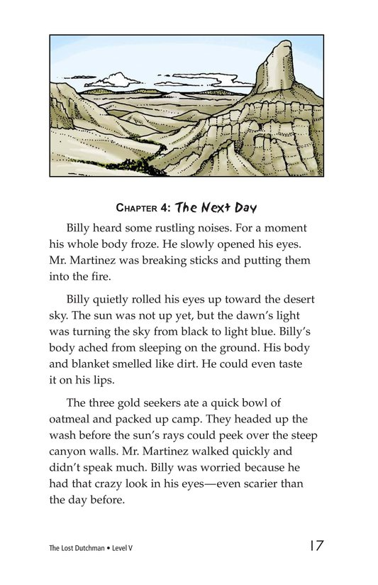 Book Preview For The Lost Dutchman Page 17