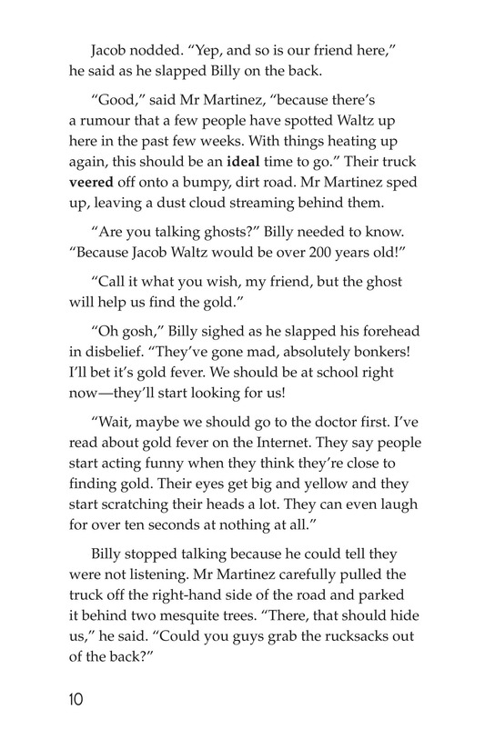 Book Preview For The Lost Dutchman Page 10