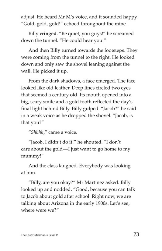 Book Preview For The Lost Dutchman Page 23
