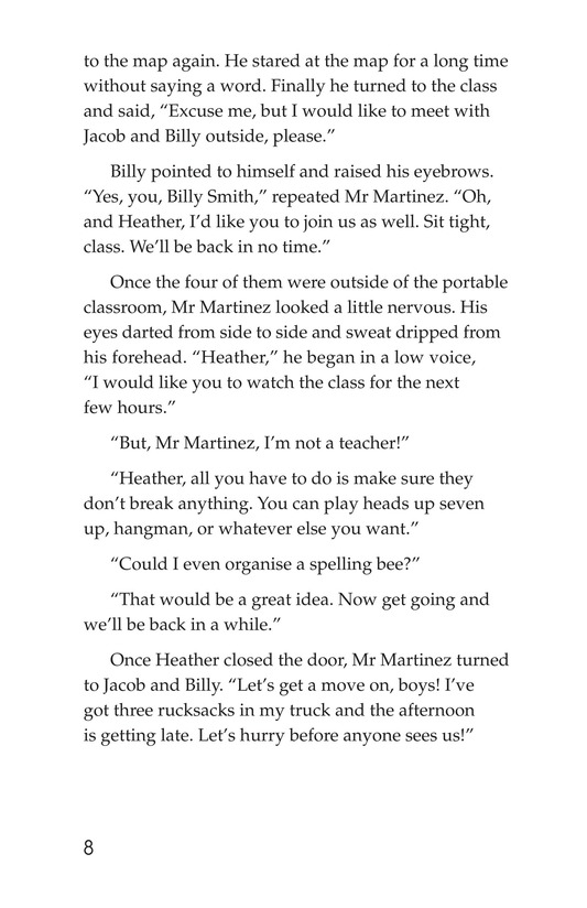 Book Preview For The Lost Dutchman Page 8