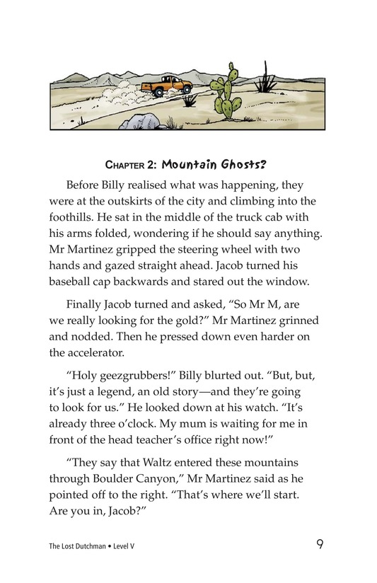 Book Preview For The Lost Dutchman Page 9