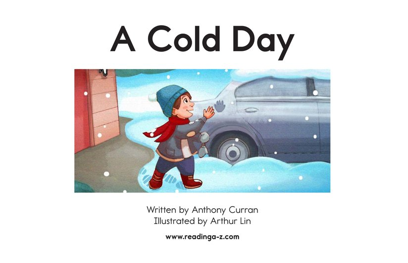 Book Preview For A Cold Day Page 2