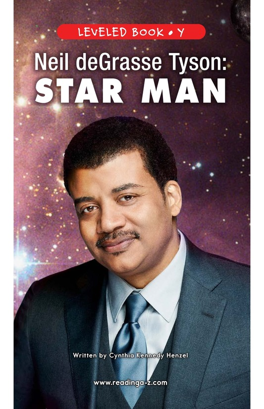 Book Preview For Neil deGrasse Tyson: Star Man Page 1