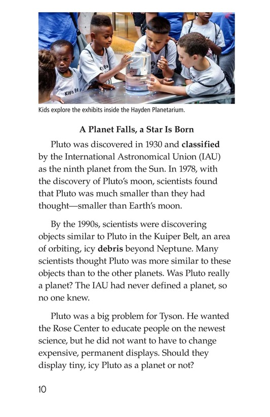 Book Preview For Neil deGrasse Tyson: Star Man Page 10