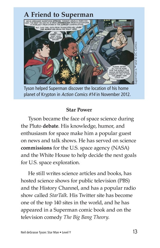 Book Preview For Neil deGrasse Tyson: Star Man Page 13