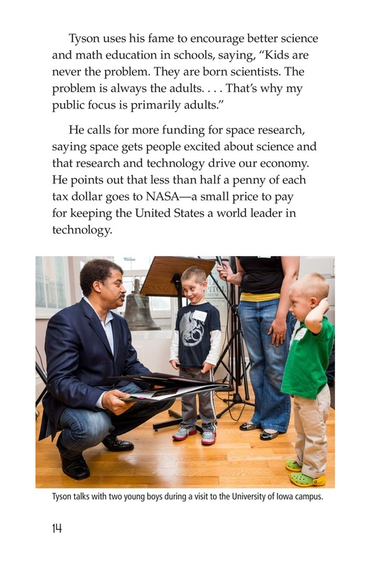 Book Preview For Neil deGrasse Tyson: Star Man Page 14