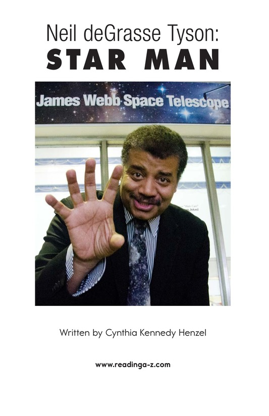 Book Preview For Neil deGrasse Tyson: Star Man Page 2