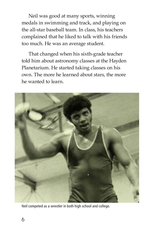 Book Preview For Neil deGrasse Tyson: Star Man Page 6