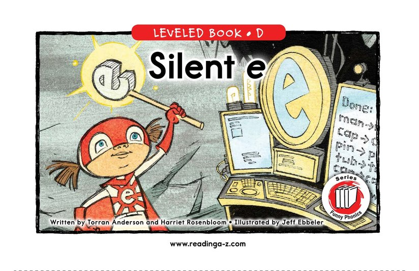 Book Preview For Silent e Page 1