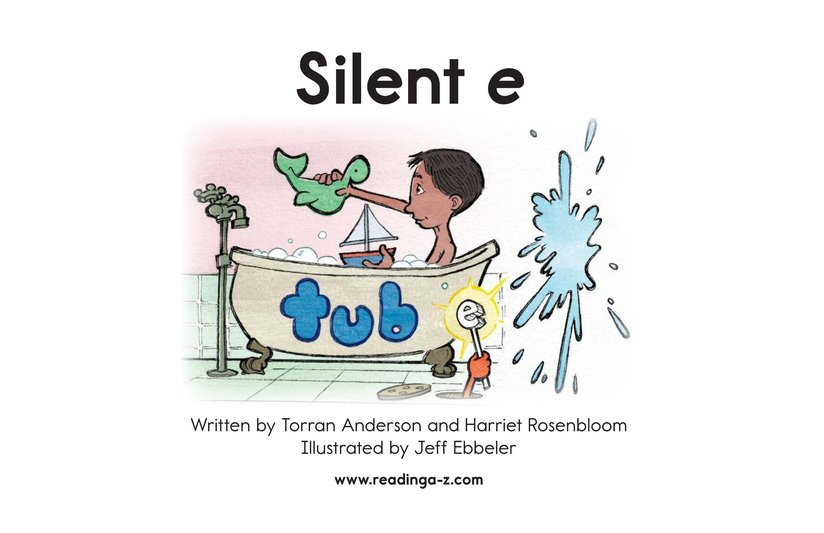 Book Preview For Silent e Page 2